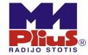 """M-1 Plius"" logotipas"