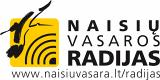 """""""Naisių vasaros radijas"""" logotipas"""