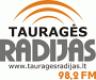 """Tauragės radijas"" logotipas"